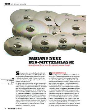 Sabian XSR Cymbals