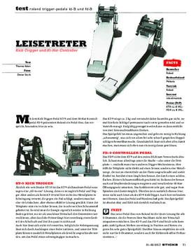 Roland Trigger-Pedale KT-9 und FD-9