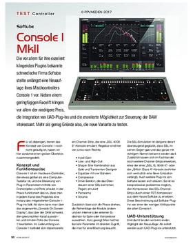 Softube Console I MkII