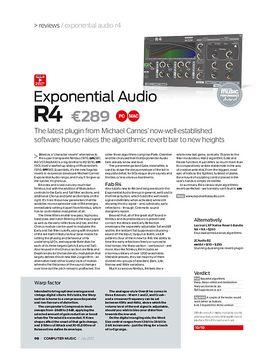 Exponential Audio R4 – Thomann UK