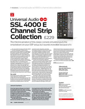 Universal Audio SSL 4000 E Channel Strip Collection
