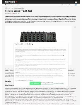 Formula Sound FF6.2 L