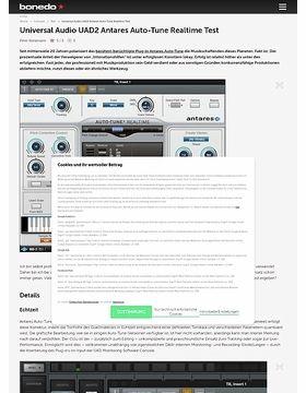 Universal Audio UAD2 Antares Auto-Tune Realtime
