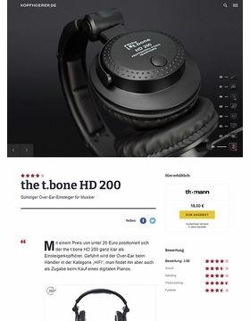 the t.bone HD 200