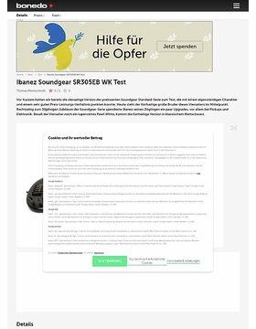 Ibanez Soundgear SR305EB WK