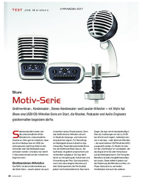 Shure Motiv-Serie