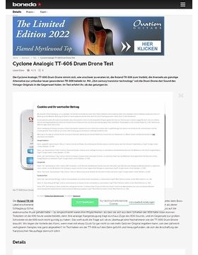 Cyclone Analogic TT-606 Drum Drone
