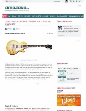 Gibson Les Paul Traditional T 2017 AB