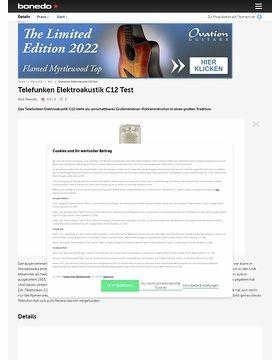 Telefunken Elektroakustik C12