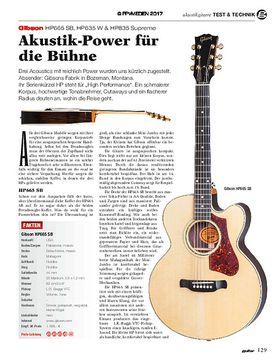 Gibson HP665 SB, HP635 W & HP835 Supreme