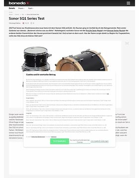 Sonor SQ1 Series