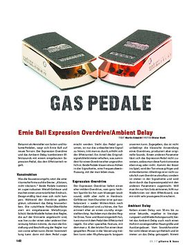 Ernie Ball Expression Overdrive/Ambient Delay