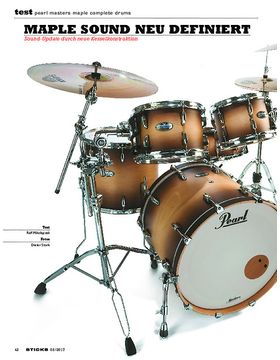 Pearl Masters Maple Complete Drums