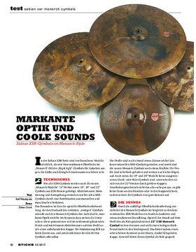 Sabian XSR Monarch Cymbals