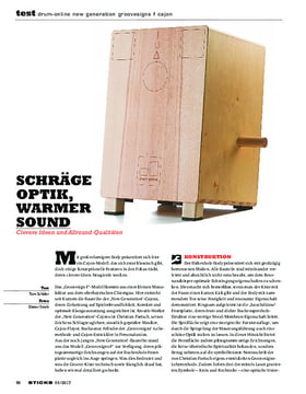 Drum-Online New Generation Groovesigns F Cajon