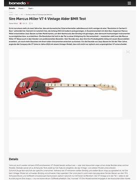 Sire Marcus Miller V7 4 Vintage Alder