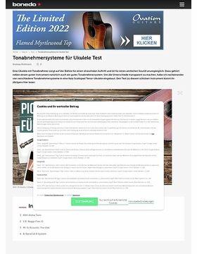 Tonabnehmersysteme für Ukulele