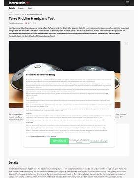 Terre Riddim Handpans