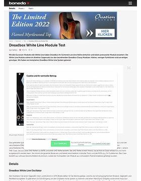 Dreadbox White Line Module