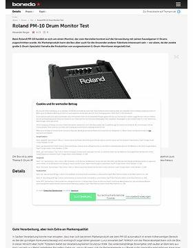 Roland PM-10 Drum Monitor