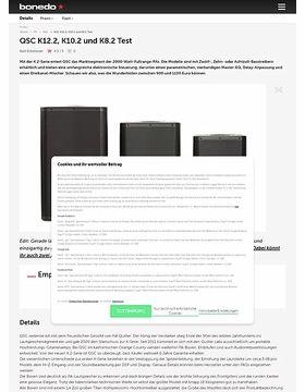 QSC K12.2, K10.2 und K8.2