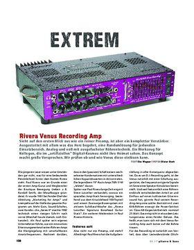 Rivera Venus Recording Amp