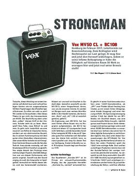 Vox MV50 CL + BC108