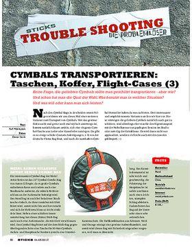 CYMBALS TRANSPORTIEREN: Taschen, Koffer, Flightcases (3)