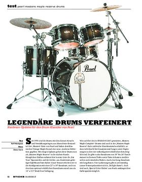 Pearl Masters Maple Reserve Drums