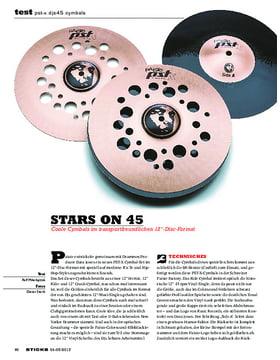 PST-X DJS45 Cymbals