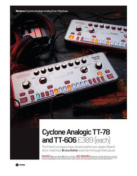 Cyclone Analogic TT-78 and TT-606