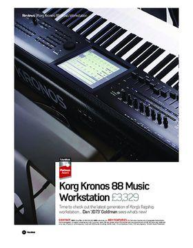 Korg Kronos 88 Music Workstation
