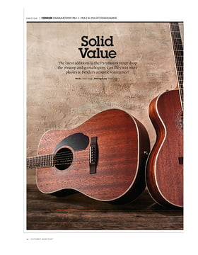 Fender PM-1 Standard Dreadnought All-Mahogany NE