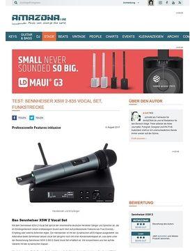 Sennheiser XSW 2-835 Vocal Set