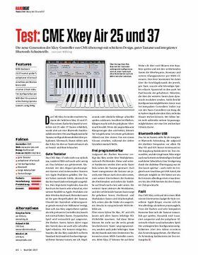 CME Xkey Air 25 und 37