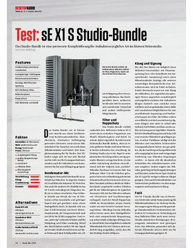 Desktop Audio: sE X1 S Studio-Bundle, Mackie Big Knob Passive