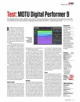 MOTU Digital Performer 9