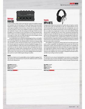 Behringer HA400, Yamaha HPH-MT5