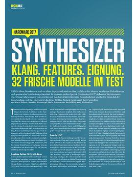 Sythesizer: Klang, Features, Eignung. 32 frische Modelle im Test