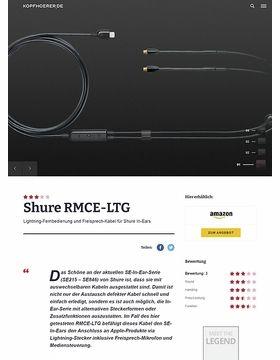 Shure RMCE-LTG