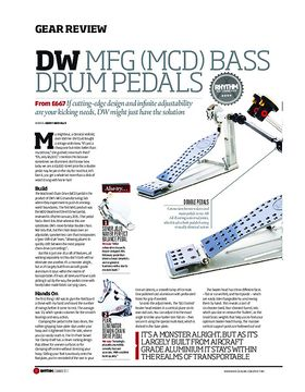 DW MFG Bass Drum Pedals