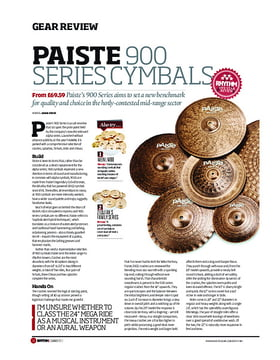 Paiste 900 Series Cymbals