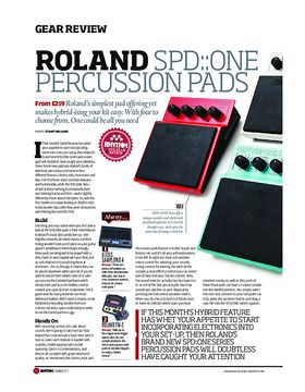 Roland SPD:One Percussion Pads