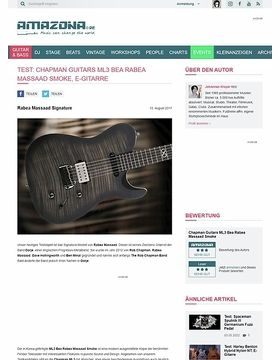 Chapman Guitars ML3 Bea Rabea Massaad Smoke
