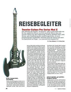 Traveler Guitars Pro Series Mod X