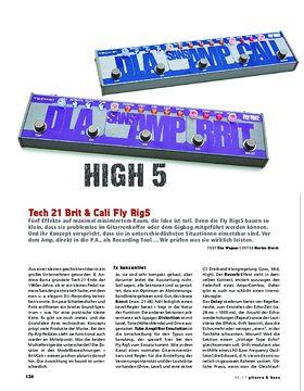 Tech 21 Brit & Cali Fly Rig5
