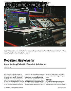 Apogee Symphony I/O 8x8 Mk II Thunderbolt