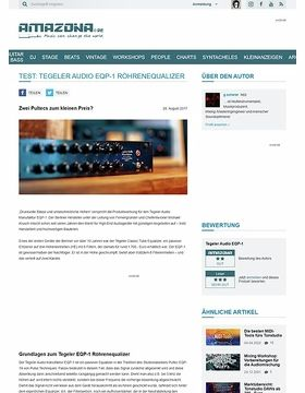 Tegeler Audio Manufaktur EQP-1
