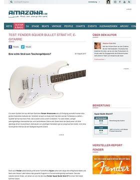 Fender Squier Bullet Strat HT