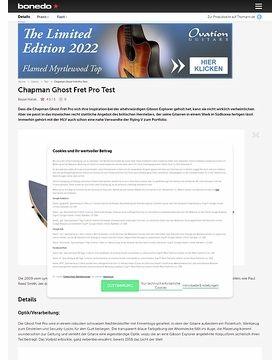 Chapman Ghost Fret Pro